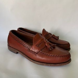 Allen Edmunds // Maxfield Braided Leather Loafers